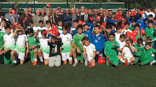 Çamlıca Spor Kulübü'nde Cumhuriyet bayramı kutlandı