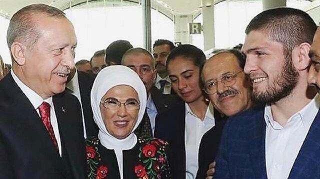 Erdoğan Habib'in fotoğrafını beğendi