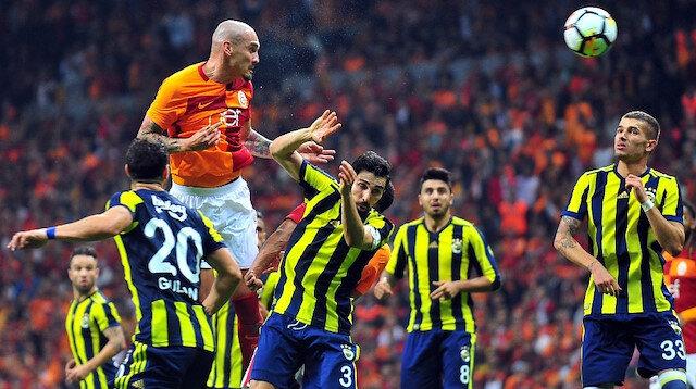 Galatasaray Fenerbahçe (GS-FB) derbisi.
