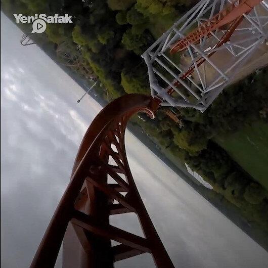 Dünyanın en korkunç Roller Coaster'ı