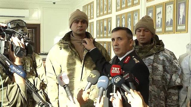 Türk askerinin kış donanım kıyafeti tek tek tanıtıldı