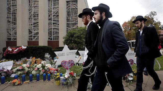 ABD'de sinagoga düzenlenen saldırıda 11 kişi hayatını kaybetmişti.
