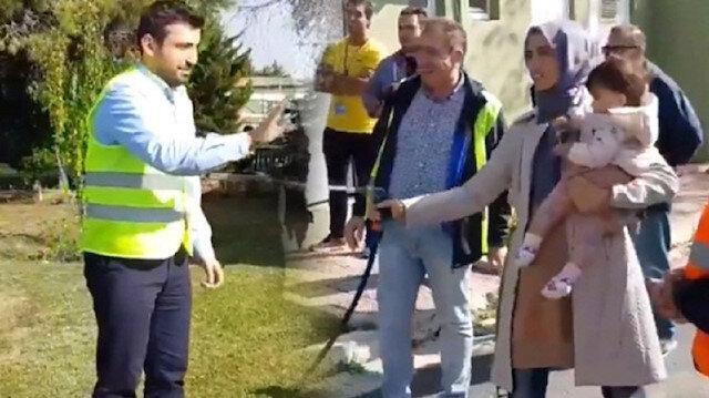 Selçuk Bayraktar'ı ıslatma törenine Sümeyye Bayraktar da katıldı