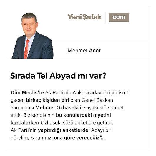 Sırada Tel Abyad mı var?