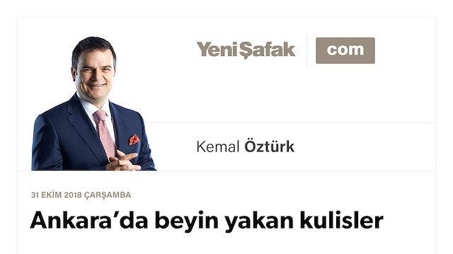 Ankara'da beyin yakan kulisler