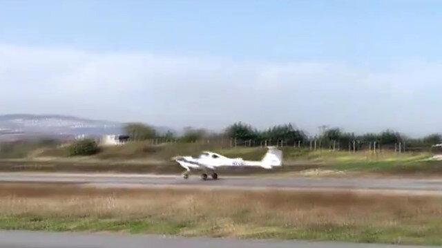 Selçuk Bayraktar ilk yalnız uçuşunu gerçekleştirdi