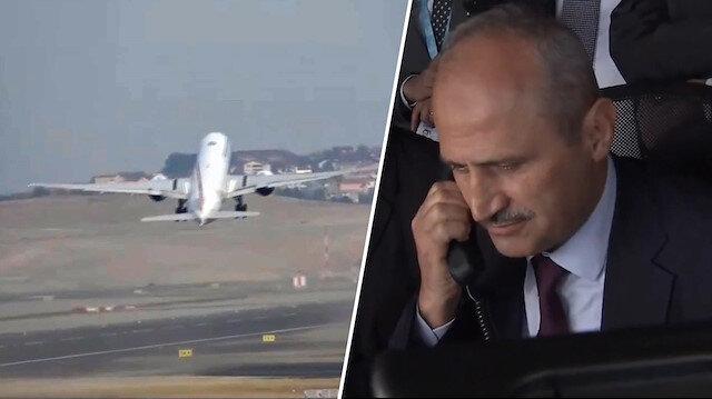 İstanbul Havalimanı'nda tarihi anlar: İlk tarifeli uçak havalandı
