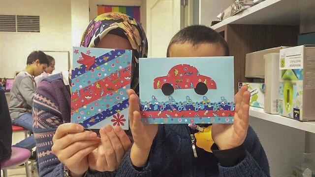 Zeytin dalı Suriyeli çocuklara uzandı