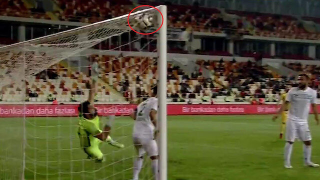 Kupada hakem skandalı: Yeni Malatyaspor'un golü verilmedi