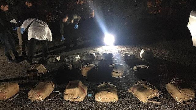 Turkish police seized 250 kilograms of explosives in Mardin
