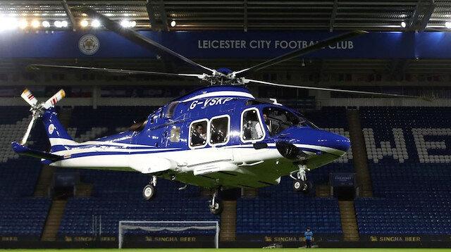 Leicester City'nin sahibinin öldüğü kazanın görüntüleri yayınlandı
