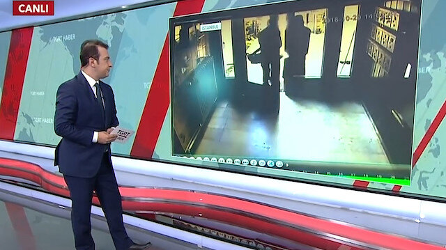 Haber spikeri canlı yayın yaparken evine hırsız girdi