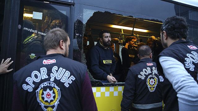 Fenerbahçeli bir grup taraftar gözaltına alındı