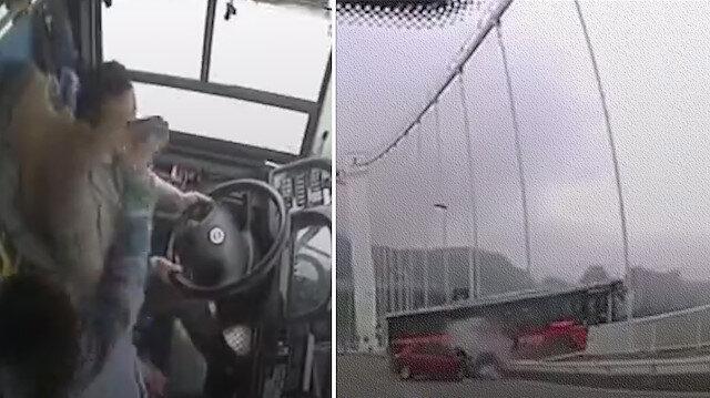 Şoför ve yolcu arasındaki 'durak kaçırma' kavgası 13 can aldı