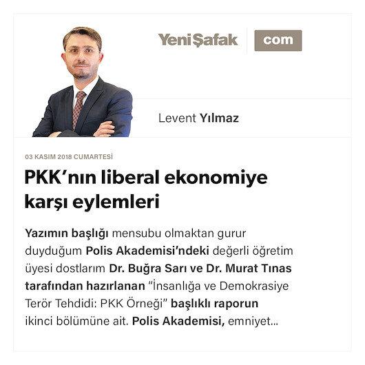 PKK'nın liberal ekonomiye karşı eylemleri