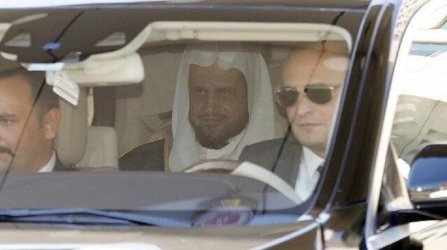 Suudi Başsavcı, İstanbul Adalet Sarayı'ndan ayrıldı.