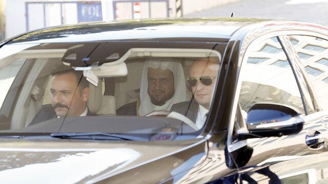 Suudi heyetin ayrılışı sırasında adliyenin protokol kapısında özel hareket polisleri tarafından yoğun güvenlik önlemi alındı.
