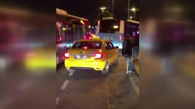 Taksici engelli vatandaşı 'kısa mesafe' bahanesiyle araca almadı