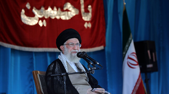 Image result for Khamenei: U.S. has been defeated in 40 years of challenge with Iran