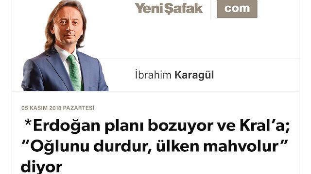 """Erdoğan planı bozuyor ve Kral'a; """"Oğlunu durdur, ülken mahvolur"""" diyor """"Büyük Körfez Savaşı"""" hazırlığı: Tuzak S. Arabistan'a kuruldu.. Mekke ve Medine'nin geleceği: Ateşli bir tartışma bizi bekliyor"""