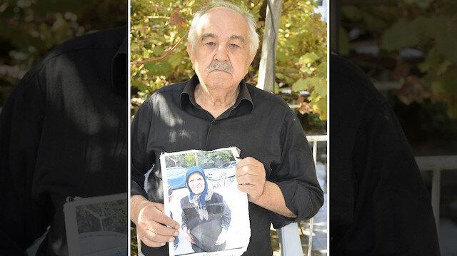 3 aydır kendisinden haber alınamayan alzheimer hastası Fatma Bozavcı'nın eşi Mehmet Bozavcı