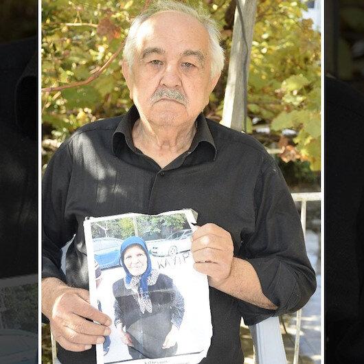 Kaybolan eşi için 3 aydır nöbet tutuyor