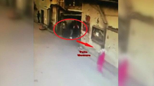 Polis boyacı kılığında girip yakaladı