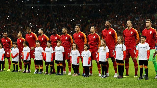 Galatasaray Schalke ile oynanan ilk maçtaki 11'i.