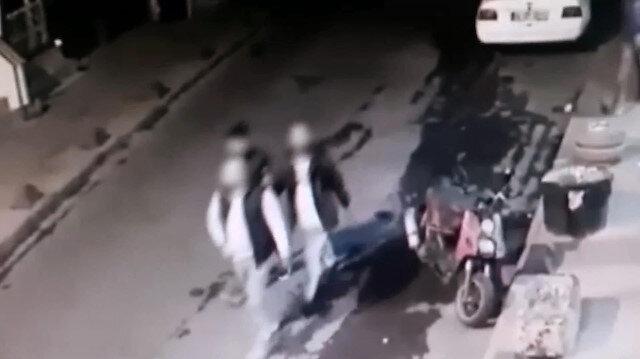Gaspçılar sahte polis yeleğiyle evlere baskın düzenledi