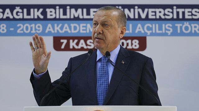 الرئيس أردوغان: سنحقق قفزات في السياحة العلاجية بتركيا