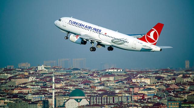 Arşiv: THY, 122 ülkede, 49'u yurt içi, 255'i yurt dışı olmak üzere toplam 304 noktaya uçuş gerçekleştiriyor.
