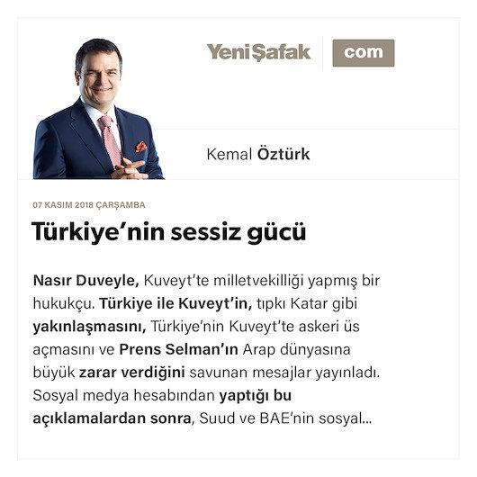 Türkiye'nin sessiz gücü