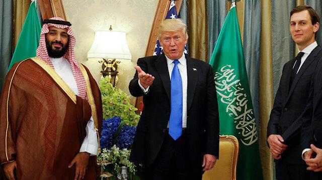 Suudi Arabistan Prensi Selman, ABD Başkanı Trump, Trump'ın danışmanı Kushner