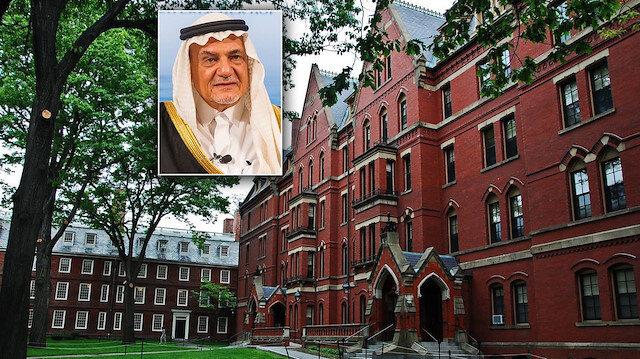Harvard Üniversitesi, Prens Türki bin Faysal