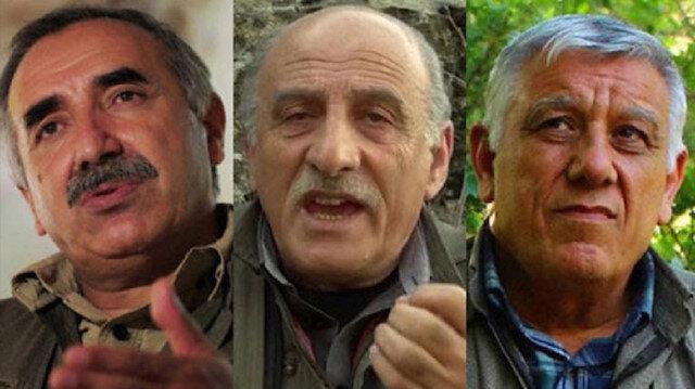القياديين الثلاث في التنظيم الإرهابي
