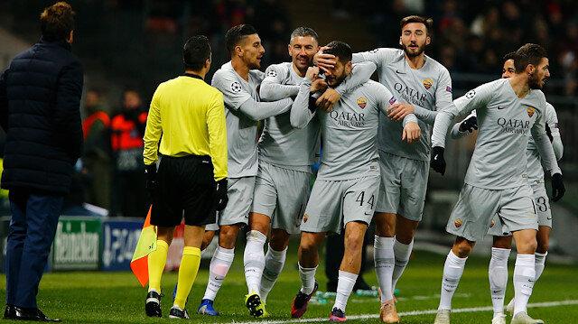 CSKA Moskova'nın 2-1 geriye düştüğü goldeki ofsayt tartışmaları maça damga vurdu.