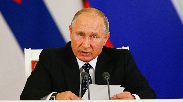Vladimir Putin, Rusya Devlet Başkanı