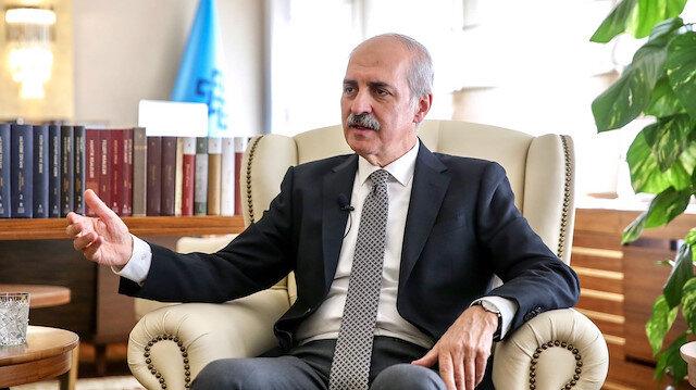 نعمان قورتولموش وكيل رئيس حزب العدالة والتنمية التركي