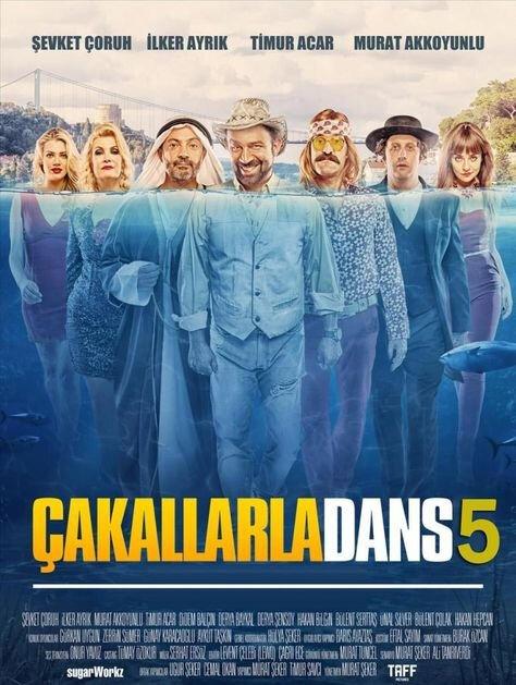 Bir devam filmi olan Çakallarla Dans filminin sonuncusu 8 Kasım'da seyirciyle buluşuyor