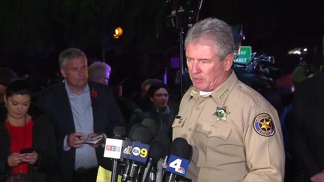Twelve killed, suspect also dead, in California bar shooting