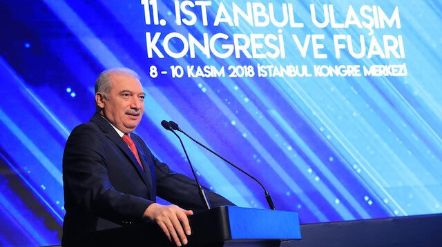 Turkey's transport and infrastructure minister Mehmet Cahit Turhan