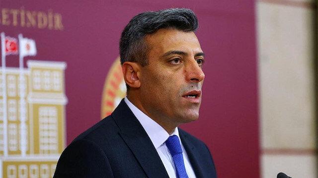 CHP Milletvekili Öztürk Yılmaz.