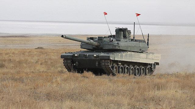 Milli ana muharebe tankı Altay'ın seri üretimine yönelik görüşmeler tamamlandı.