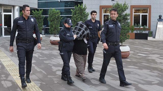 Gözaltına alınana iki kişiden biri tutuklanarak cezaevine gönderildi.