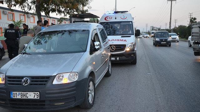 Adana'da trafikte başlayan tartışma, silahlı kavgaya dönüştü.