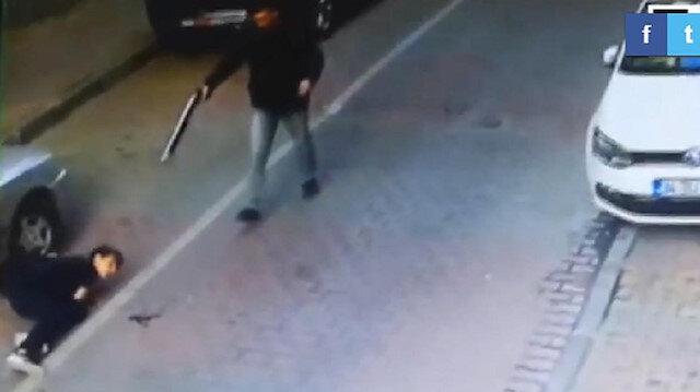 15 yaşındaki lise öğrencisine yönelik pompalı saldırının görüntüleri ortaya çıkmıştı.