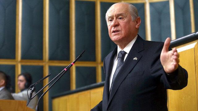 MHP lideri Bahçeli: Yeni bir cambaz oyunu sahnede