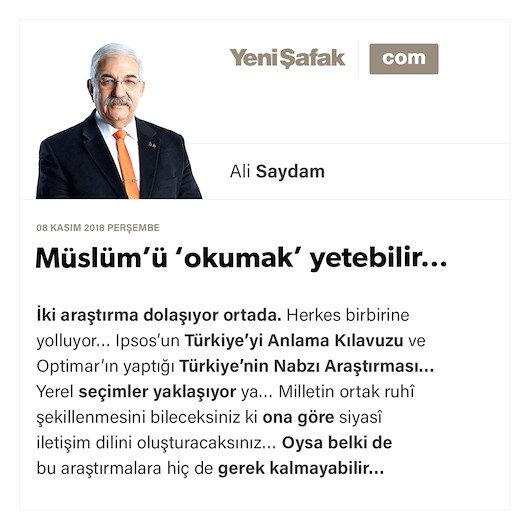 Müslüm'ü 'okumak' yetebilir…