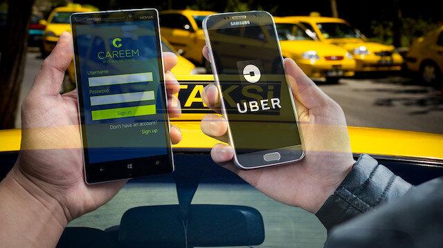 Taksiciler Odası'ndan UBER'in rakibine tepki çeken ziyaret