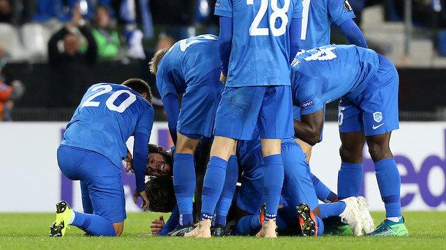 Genk, Beşiktaş karşısında 88. dakikada bulduğu golle 1-1'lik eşitliği yakaladı.
